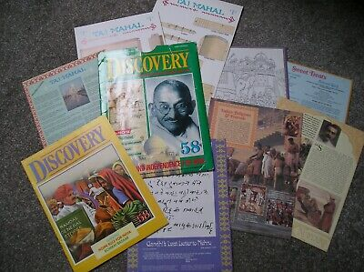 Discovery Marshall Cavendish Magazine issue 58 Gandhi Independence for India.