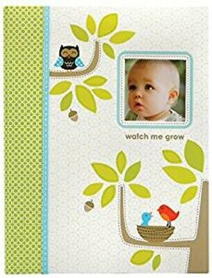 New NWT Carters CR Gibson Woodland Forest Animal Baby Memory First Record Book