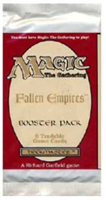 Fallen Empires Booster Pack. Magic the Gathering.