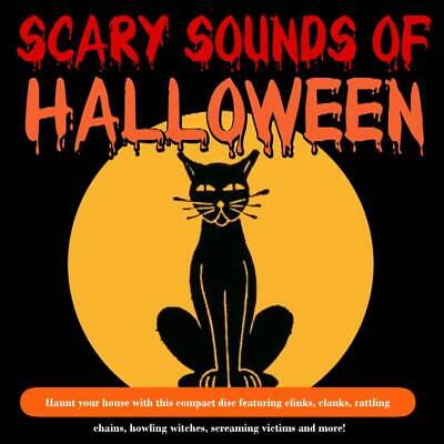 🎃Sounds Of Halloween🎃Spooky👻Horror👻Creepy👻Scary Party Soundtrack Cd