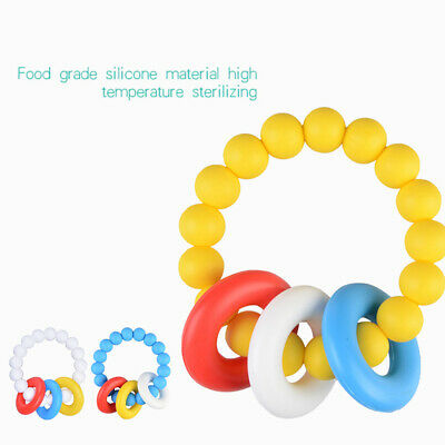 Kids Teether Baby Toy Silicone Toothbrush Environmentally Safe Molar Rods Corn