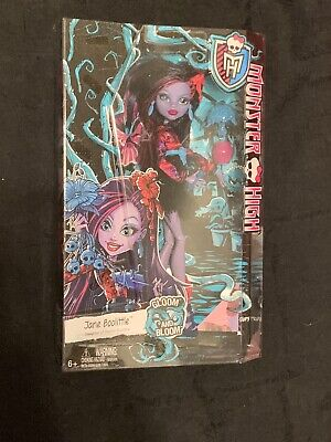 2014 Mattel ~ Monster High ~ Gloom And Bloom ~ Jane Boolittle Doll (New)