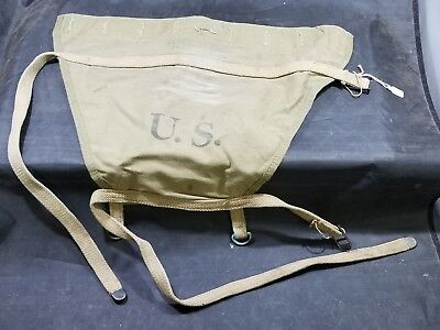 WWII US Army M1928 Haversack Pack Extension #9
