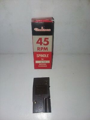Vintage Qualitone 45 Rpm Spindal Adaptor For VM Type Record Changer (Brand...