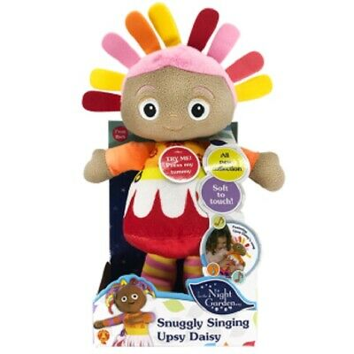 In the Night Garden Snugly Singing Upsy Daisy Interactive Soft Toy 29cm NEW