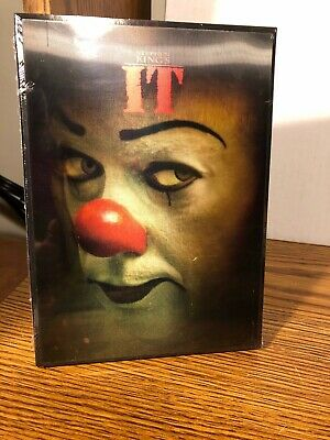 It Dvd + Rare Lenticular Exclusive Slipcover Sleeve Horror 1990 Limited Edition