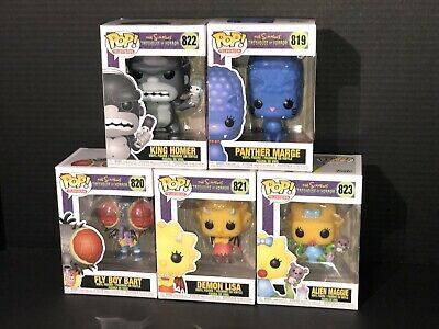 Funko Pop! The Simpsons Treehouse Of Horror Character Options