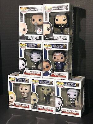 Funko Pop! The Addams Family Characters