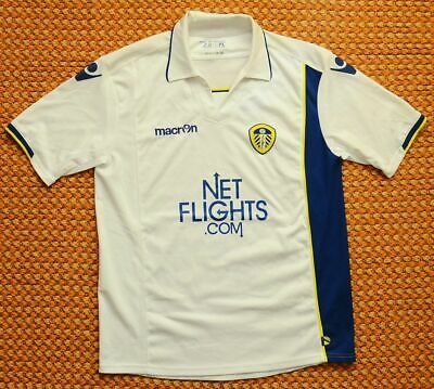 2009 - 2010 Leeds United, Away Football Shirt by Macron , Adult Large - Medium