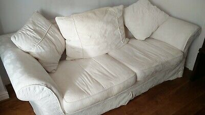 Swell Country Living 3 Seater Dfs Sofa Cream With Spare Set Of Uwap Interior Chair Design Uwaporg