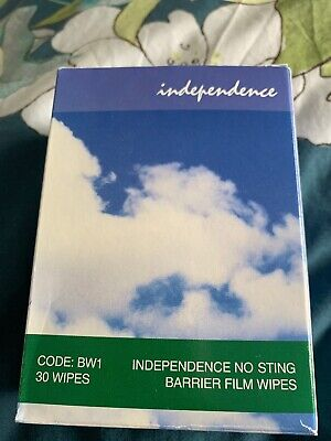 Four Boxes Of independence no sting barrier film wipes