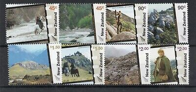 New Zealand 2004 Lord Of The Rings Film Sg,2714-2721 U/Mm Nh Lot 3880B