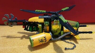 Genuine Lego Ultra Agents Toxikita HELICOPTER build from 70163 displayed only