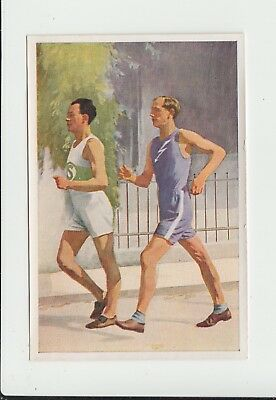 Race Walking : Paul Sievert : German sports trade card 1932