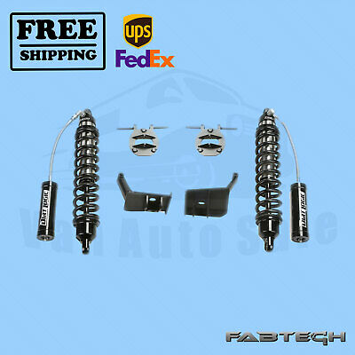 """6"""" Coilover Conversion w/ Front 2.5 Resi Coilovers FABTECH for 17 Ford F350 4WD"""