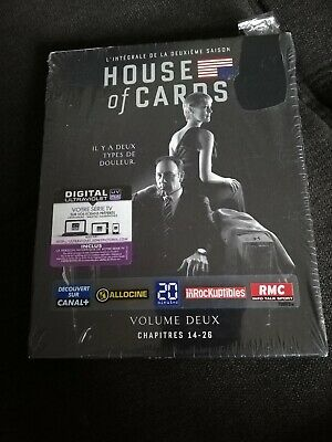 Dvd House Of Cards Vol 2 Chapitres 14-26 Neuf Sous Blister