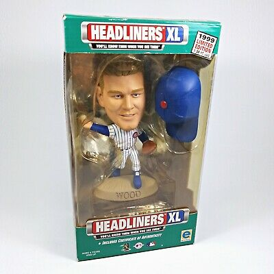 KERRY WOOD: Headliners XL 1999 Collection Kerry Wood Chicago Cubs LE/15000