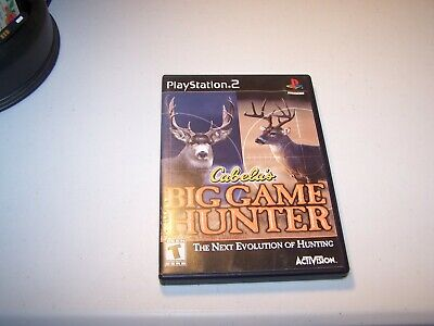 Cabelas Big Game Hunter Sony Playstation 2 Ps2 Complete Video Game