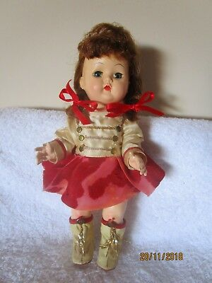 Block Usa Walker In Original Majorette Outfit 1950'S 10.5 Inches
