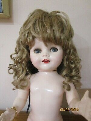 Blonde Curley  25 Cent Doll Wig