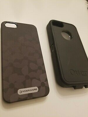 OtterBox iPhone Case for Apple iPhone 5 - Black + extra case