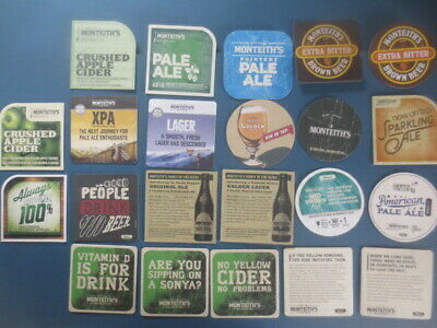 10 different CARLTON DRAUGHT Issued Advertising COASTERS