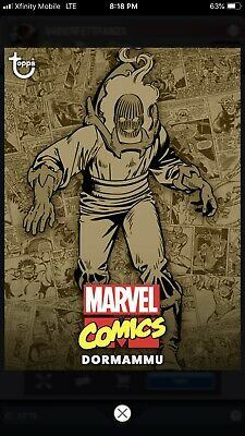 Topps MARVEL COLLECT Digital Card Trader COMIC CLASSIC WAVE 1 SEPIA - DORMAMMU