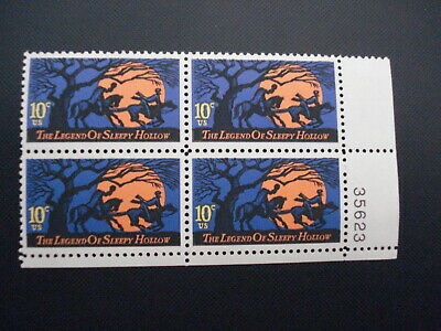 #1548-Mnh Plate Block-#35653Lr-Free Shipping Offer!