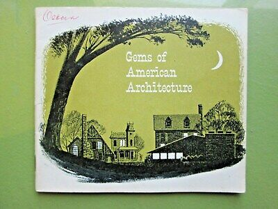 1935 Gems of American Architecture Sales Catalog of DYI Outhouses (Doolies) 24pp