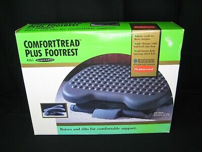Rubbermaid Comfort Tread Plus Foot Rest For Computer Work Stations And Offices