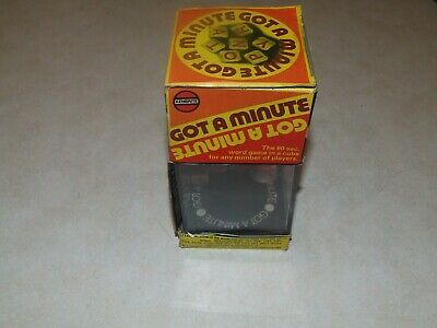 Vintage Kenbrite - Got a Minute Word Game
