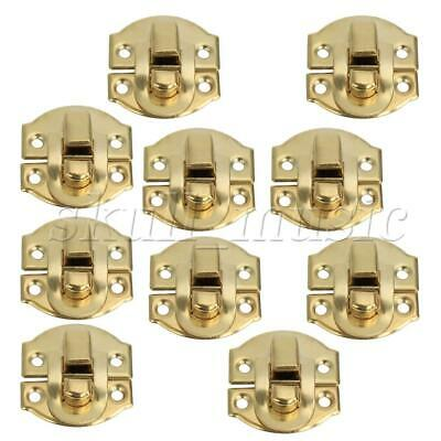 21mm Vintage Style Mini A011 Furniture Padlock for Cabinets Set of 10