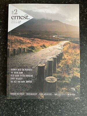 ERNEST JOURNAL ISSUE VOLUME # No 2 RARE Out of Print ADVENTURE MAGAZINE