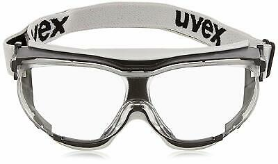 UVEX SAFETY GLASSES CarbonVision Elastic Strap ANTI FOG SCRATCH RESISTANT UV400