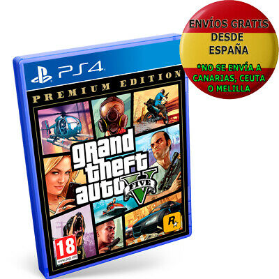 Grand Theft Auto V - Premium Edition PS4 GTA 5 PAL ESPAÑA NUEVO FÍSICO