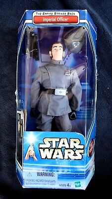 Star Wars Figure: Imperial Officer (Empire Strikes Back). 2002, Complete In Box!