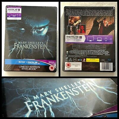 Mary Shelley's Frankenstein 1994 Blu-ray Steelbook Limited Edition UK
