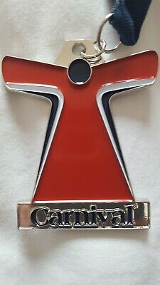 🔥 2019 CARNIVAL CRUISE LINE Ship Medal Ribbon CHOOSE FUN