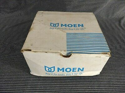 Moen Mixed Lot of Parts Brushed Nickel Shower Head, Chrome Faucet, Face 2 Necks