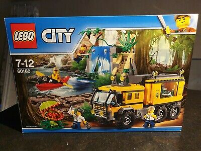 60160 LEGO City Jungle Explorers Mobile Lab 426 Pieces Age 7 Years+