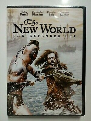 The New World (DVD, 2008, Extended Cut) Colin Farrell Brand New