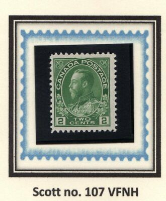 "Canada - Cat. Scott 107 - Fvfnh - King George V ""Admiral Issue""."