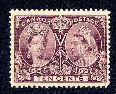 Canada - Cat. Scott 57 -Fvfnh - Diamond Jubilee Issue - With Certificate