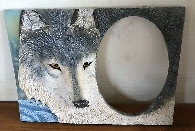Latex Moulds for making this Lovely Wolf Photo Frame