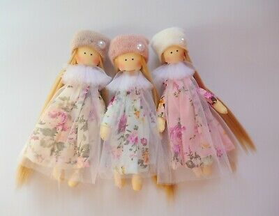 mini rag doll, Small doll, dollhouse doll, tiny doll, little doll,miniature doll