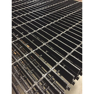 DIRECT METALS 20250S150-B3 Bar Grating,Smooth,24In. W,1.5In. H