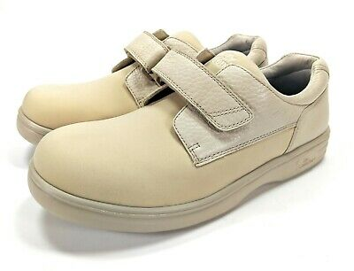 Dr Comfort Annie Tan Leather Lycra Diabetic Ortho Therapeutic Shoes, US 8.5 XW