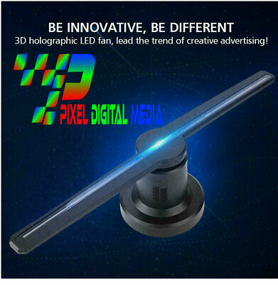 3D Hologram LED Fan Projector Advertising Display with  wifi and Remote Best Led