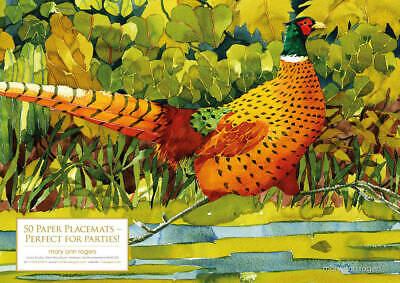 Paper Placemats Pheasant - Mary Ann Rogers