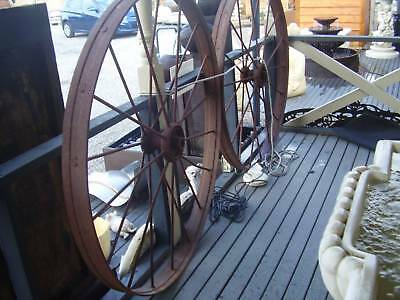 Antique Wheel Steel Harvester wheel, old wheels